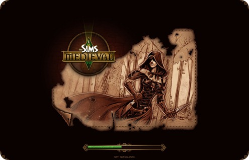 female warlock in rogue disguise